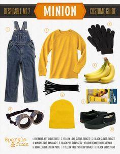 The Best Minion Costume Ideas #DIY for Halloween