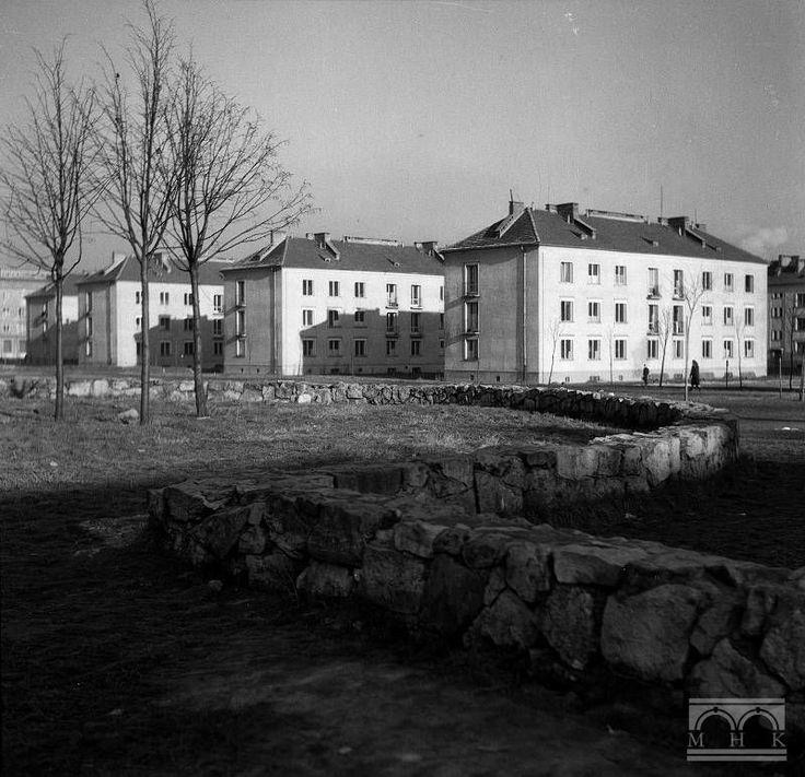Nowa Huta, os. Wandy. Author: Henryk Hermanowicz, Years 50/60. XX. Cracow