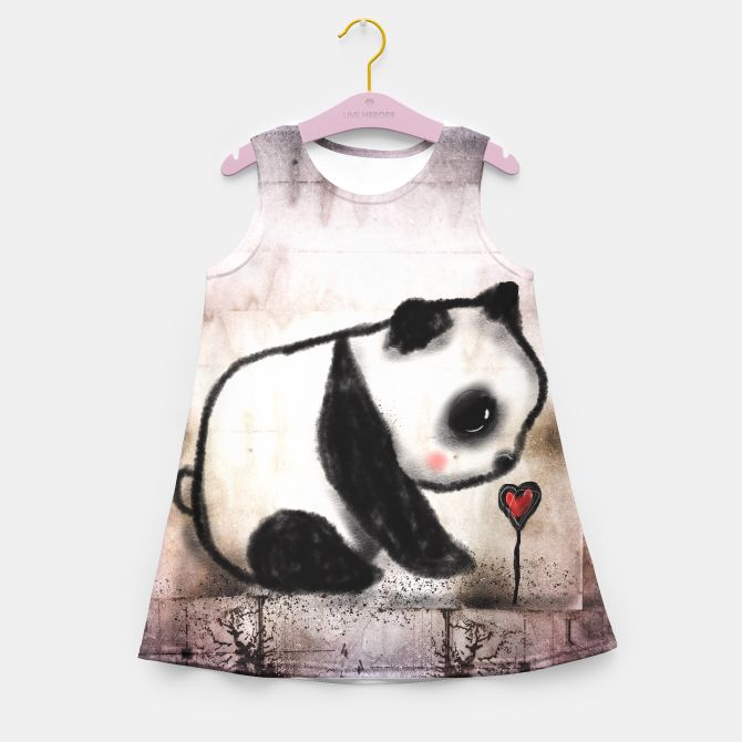 Summer dress baby panda