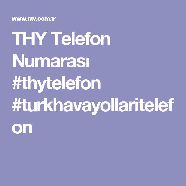 THY Telefon Numarası #thytelefon #turkhavayollaritelefon
