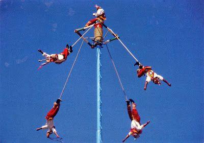 MEXICO (Veracruz) - Ritual ceremony of the Voladores (UNESCO ICH)