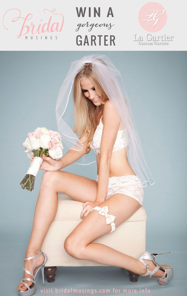 WIN a luxurious wedding garter by @LaGartierWeddingGarters worth up to $295! Click here to enter: http://bridalmusings.com/2013/08/gorgeous-la-gartier-wedding-garters-giveaway/