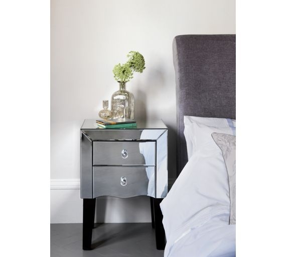Buy Home of Style Leonessa Mirrored Bedside Chest at Argos.co.uk, visit Argos.co.uk to shop online for Bedside cabinets, Bedroom furniture, Home and garden