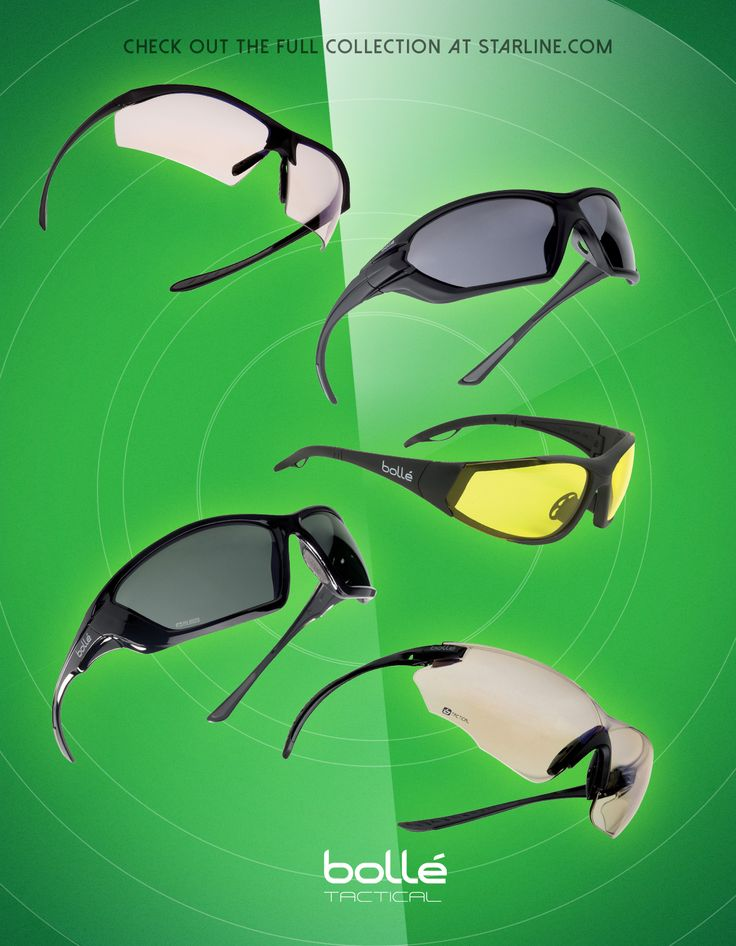 Bolle eyewear, stylish to wear anytime, but with CSA and ANSI ratings these are perfect to keep your eyes safe.