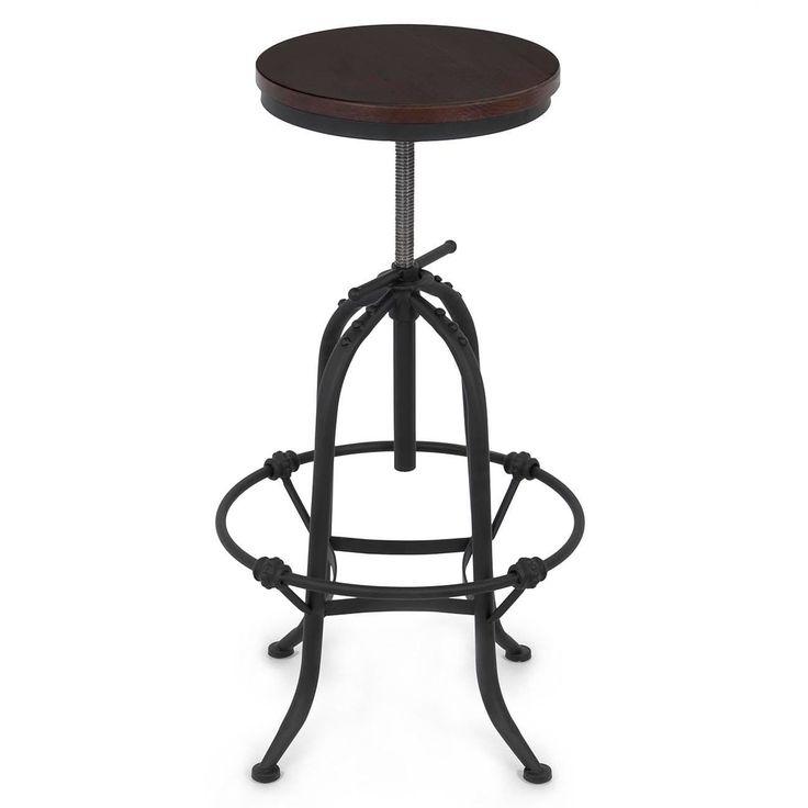 Vintage Bar Stool Adjustable Seat Height Counter Top Chair: Best 25+ Vintage Bar Stools Ideas On Pinterest