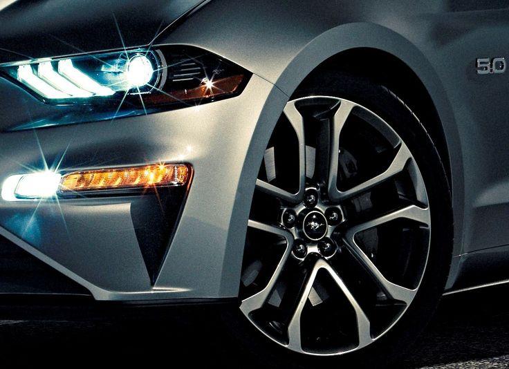 2018 Mustang GT in Ingot Silver   Ford Mustang   Pinterest ...