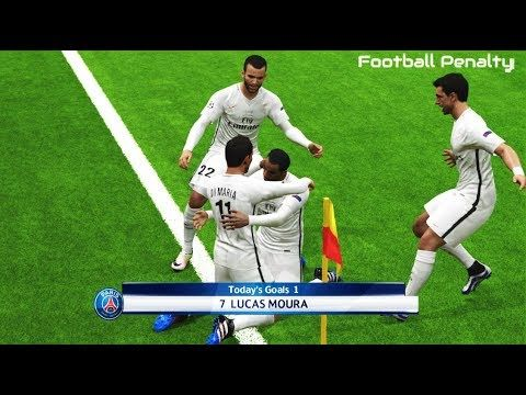 Juventus vs Paris Saint Germain | Full Match & Goals Highlights | PES 20...