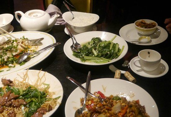 Sea Palace Restaurant, Amsterdam   Steamed Sea brass. Fresh, expensive but oh so delicious .. (Michael T ...