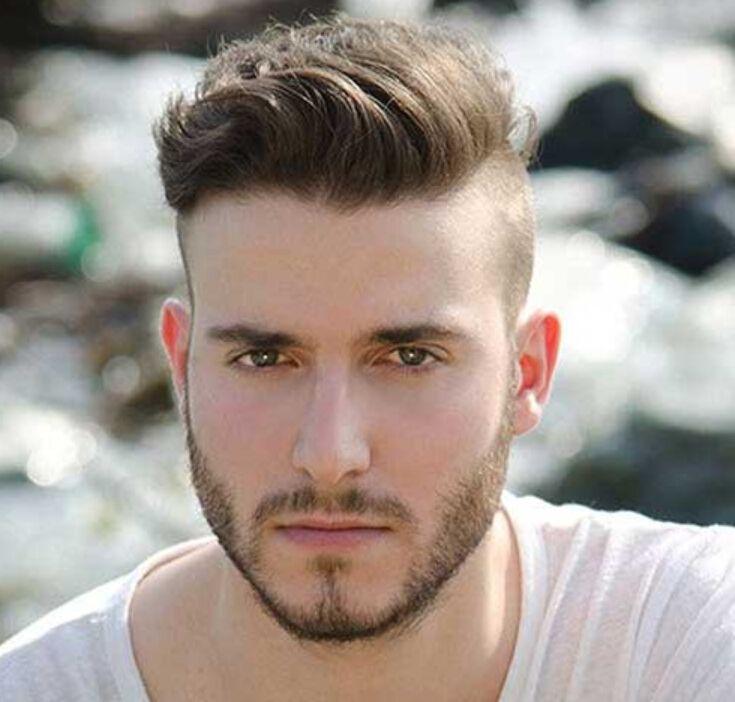Undercut Haarschnitt Frisur Undercut Männer Jungen Mit