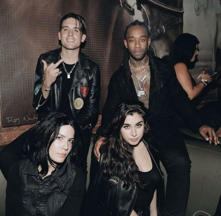 G-Eazy Ty Dolla Sign Halsey and Lauren