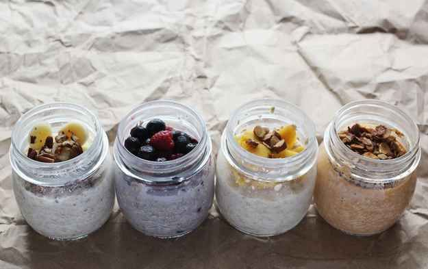 Banana Nut, Very Berry, Tropical, Pumpkin Spice Overnight Oatmeal   19 Overnight Oats Recipes To Restore Your Faith In Breakfast