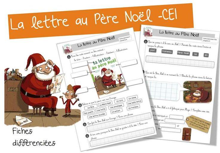La lettre au père Noël : Lecture suivie CE1 | Bout de Gomme