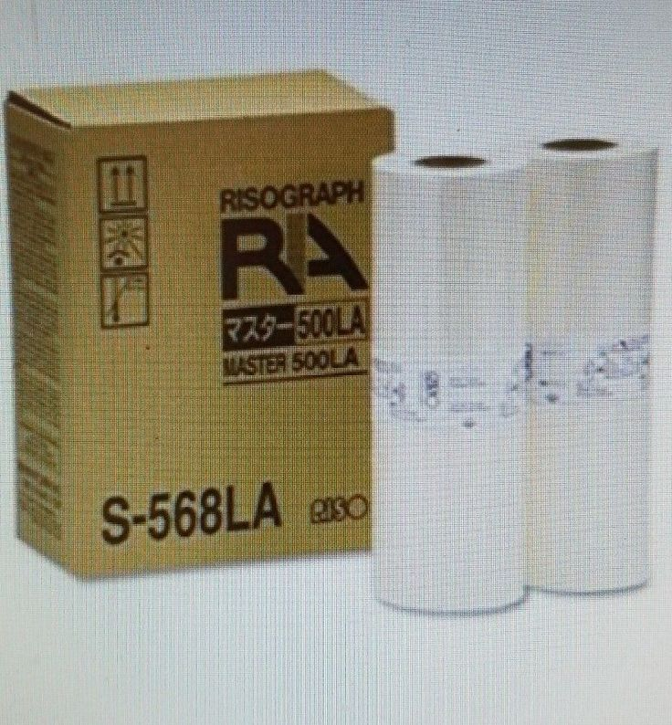 2 Masters Compatible With Riso S-568LA For Risograph RA RC 4000 4200 4500 5600 | Computers/Tablets & Networking, Printers, Scanners & Supplies, Printer Ink, Toner & Paper | eBay!