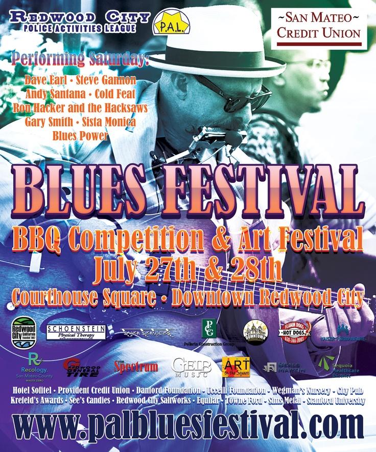 Blues Festival Poster  #blues #blues festival #poster