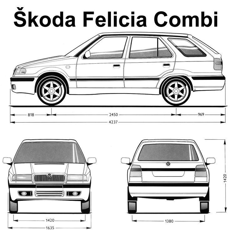 Skoda Felicia Combi (1994–2001)