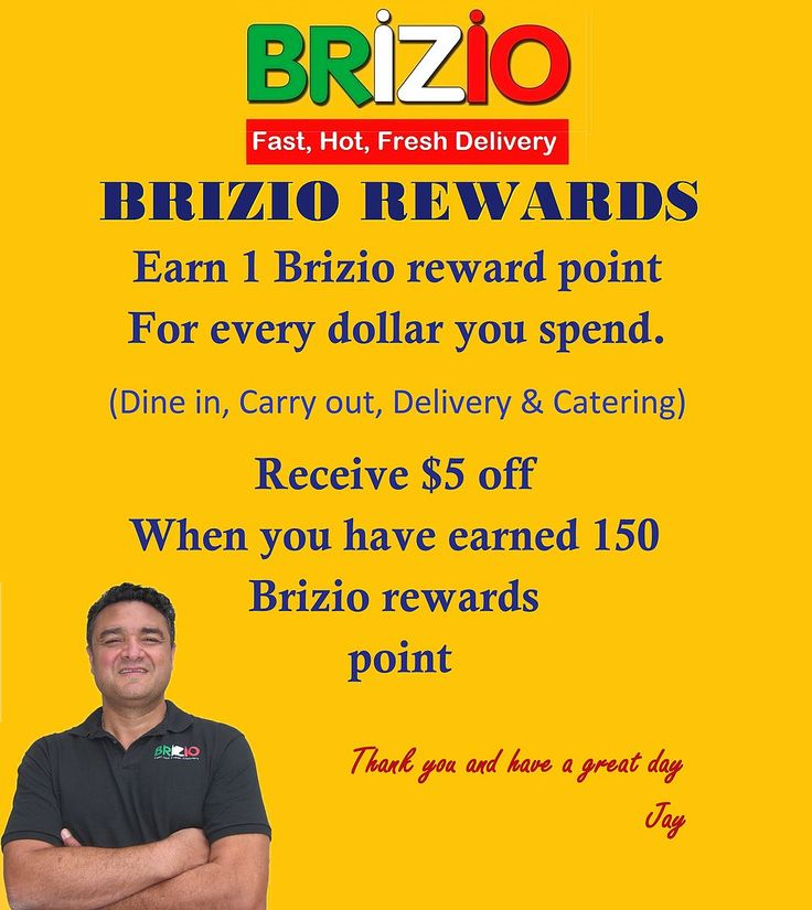 Brizio Pizza Special Offer	Whether it is our famous original pan style pizza, gluten free crust pizza, thin crust pizza, Italian beef or meatball sandwiches, garlic bread or our one of a kind buffalo wings, we always use only top of the line ingredients. 	#pizza near me, #pizza delivery near me, #pizza delivery lake forest, #pizza delivery in lake forest, #pizza delivery in lake forest california, #pizza delivery in lake forest ca, #24 hour pizza delivery lake forest, #pizza delivery, #pizza…