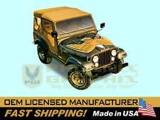 1977 1978 1979 1980 Jeep Golden Eagle CJ5 CJ7 Decals & Stripes Kit