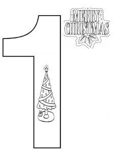 number-1-coloring-page