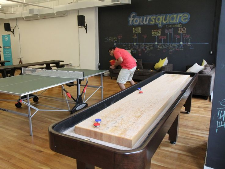 foursquare office - game area (our office might not be big enough though)