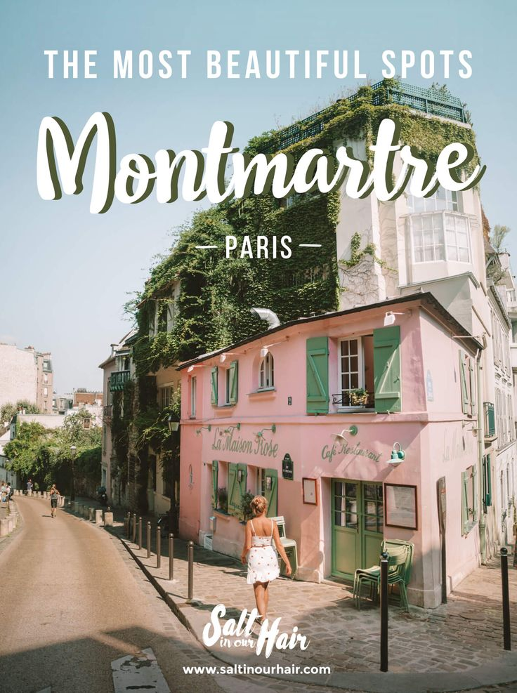 MONTMARTRE PARIS – Explore one of the most beautiful areas in Paris