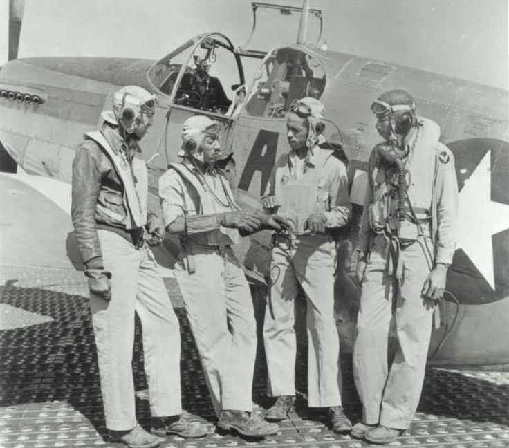 best tuskegee airmen red tails images tuskegee  tuskegee airmen clarence dart elwood driver hebert houston alva temple discuss kill of