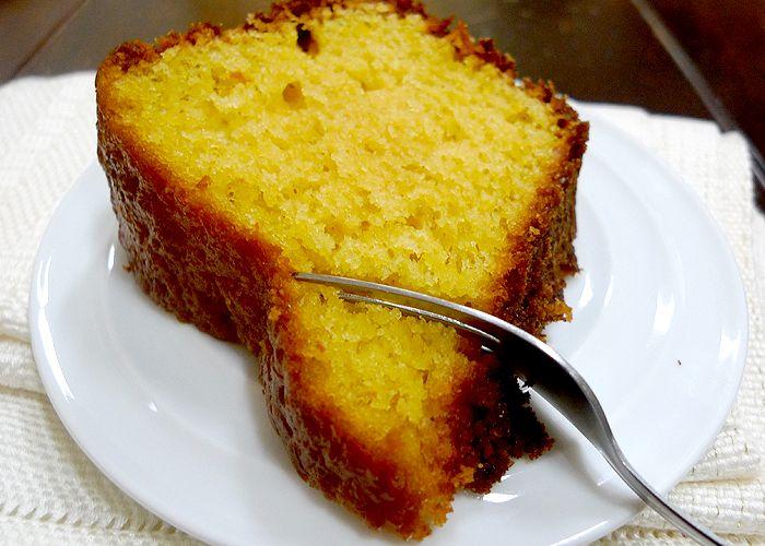Receita simples de bolo de laranja - Show de Receitas