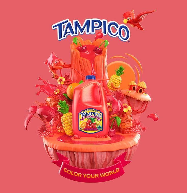 Tampico - Color Your World on Behance