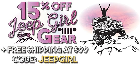 Jeep Girls! The best Jeep Apparel & Gifts for Jeep Girls at www.AllThingsJeep.com