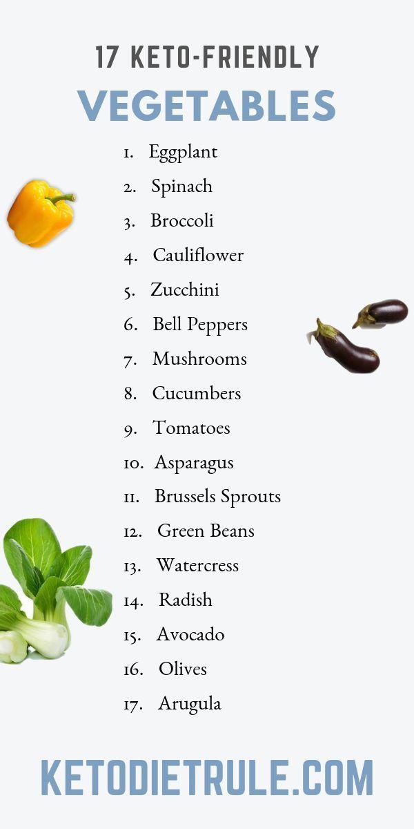 verduras que puedes comer con una dieta cetosis