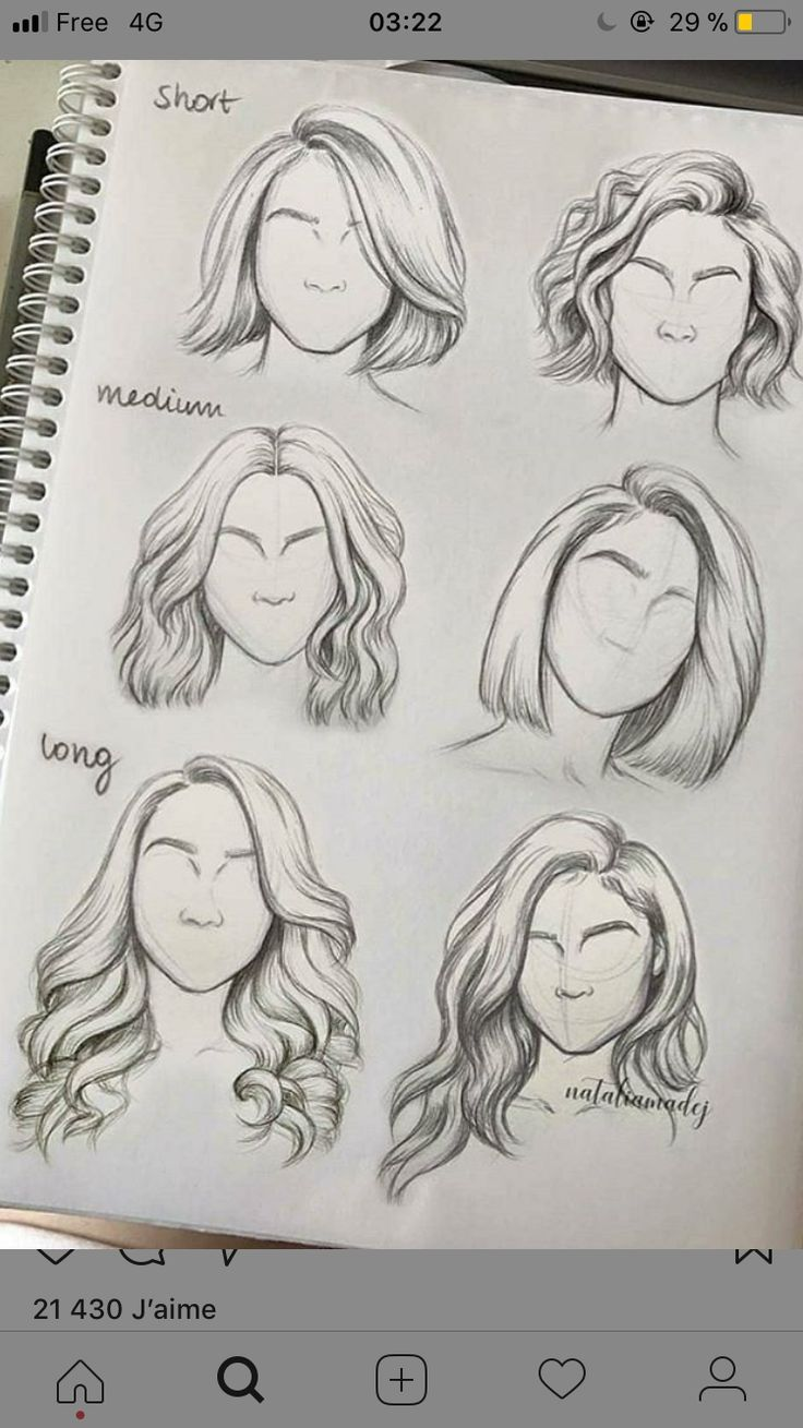 10+ Amazing Drawing Hairstyles For Characters Ideas