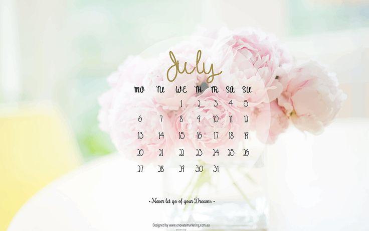 July Desktop Wallpaper Enovate Marketing - productivity tools