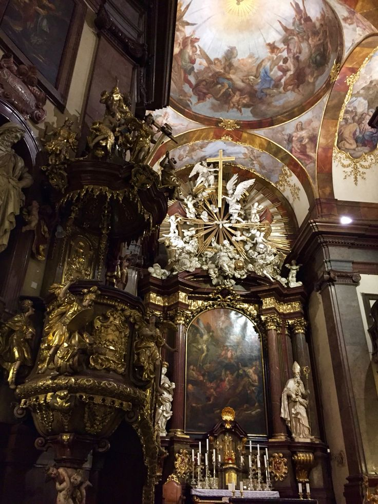 St Francis Church at Prague 1, have a hour concert every night.