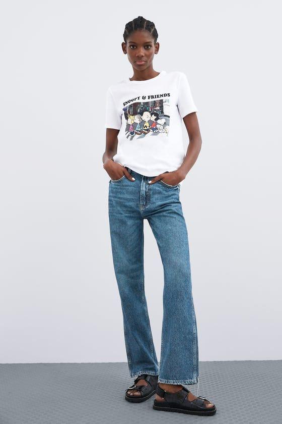 400b40833f CAMISETA SNOOPY & FRIENDS in 2019 | Wishlist | T shirt, Crop shirt ...