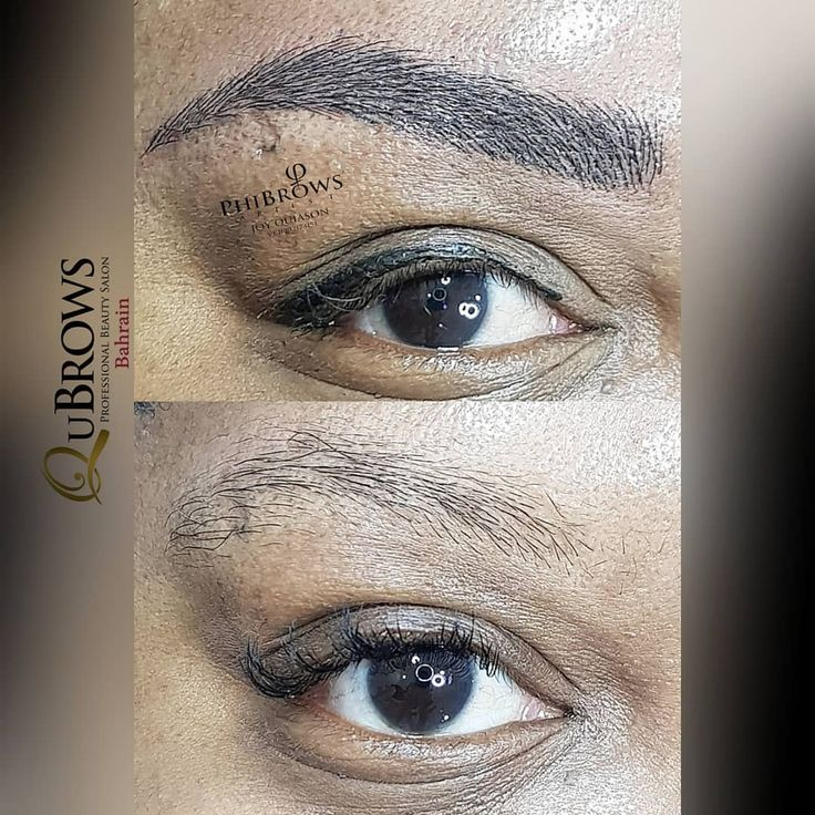 Eyebrows matters! It does take years off your age! Look ...