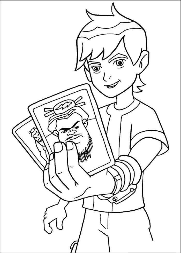 Ben Game Cursing Coloring Pages Cartoon Coloring Pages Coloring Pictures For Kids Coloring Books