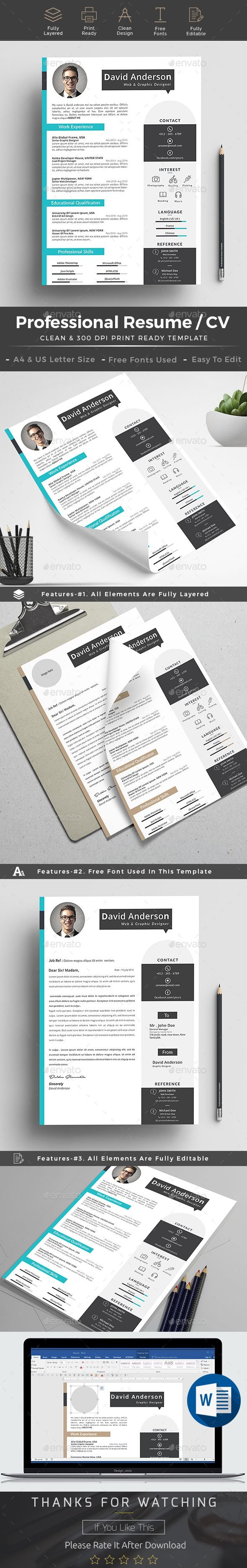 #Resume - Resumes Stationery Download here: https://graphicriver.net/item/resume/19244088?ref=alena994