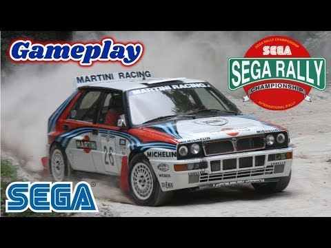 Sega Rally Sega Saturn - gameplay - Jacobo García - Interfaz coleccionista - YouTube