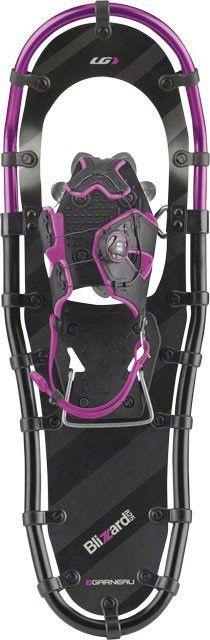 Louis Garneau Women's Blizzard II Snowshoe: Black/Pink 825