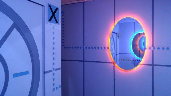 Portal Bedroom Geek Decor Bedroom themes, Video game