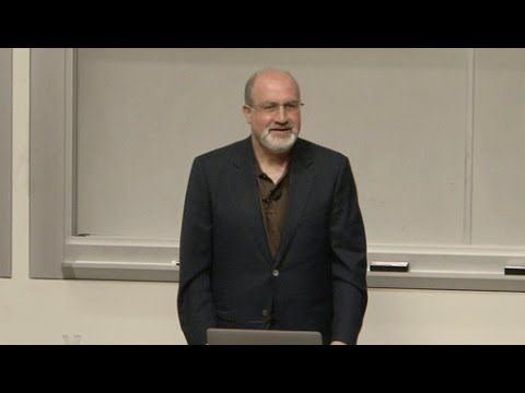 Nassim Taleb: How Things Gain from Disorder [Entire Talk]
