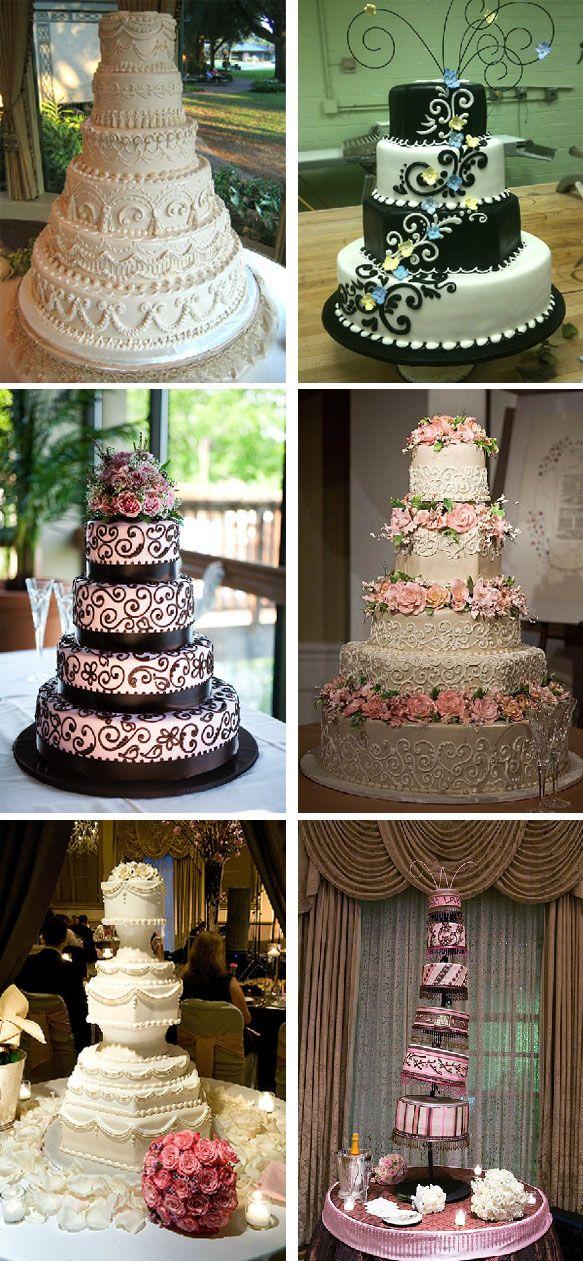 Wedding Cakes by Frosted Art Bakery & Studio #WeddingCake #Wedding #Luxury