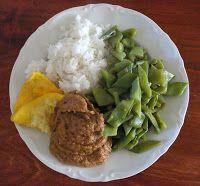 genieten van eten: Recept: sambal goreng boontjes