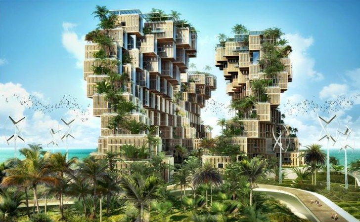 Vincent Callebaut Unveils Coral-Inspired Carbon Neutral Eco Village for Haiti