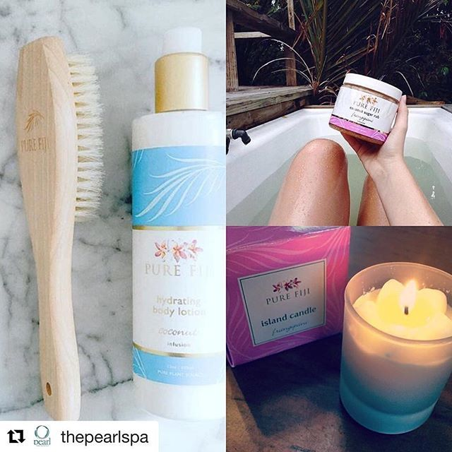 Enjoy a spa day in the comfort of your own home with Pure Fiji's natural body care products.  Exfoliate, moisturise and soothe skin with these plant based therapies. Spa Basket includes a 2 oz. body oil, lotion, dilo rescue gel, body butter, sugar rub, creme scrub and shower gel. Explore our tropical gift and travel collection at https://us.purefiji.com/us-g-c9.html?attribs=Gifts