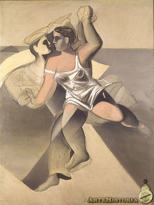 "Salvador Dalí ""Venus i mariner"" Homenatge a Salvat Papasseit, 1925"