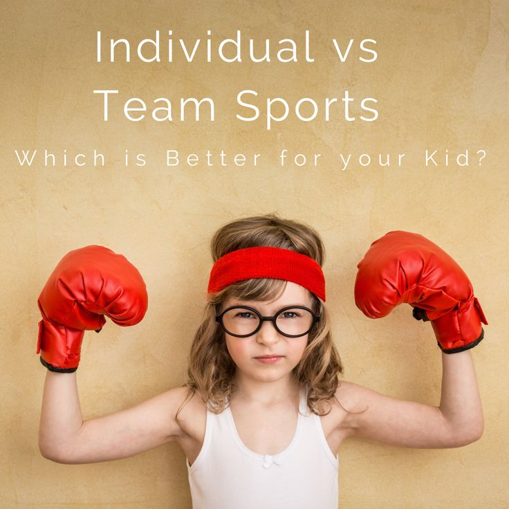 Individual Sports: Individual Vs. Team Sports: Which Is Better For Your Kid