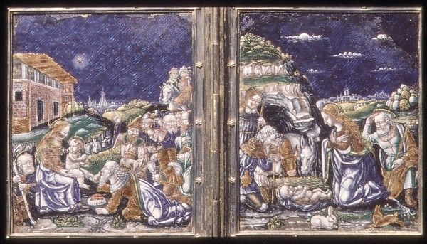 Adoration of the Shepherds and Adoration of the Magi | Italian, Lombardy, Milan or Ferrara | The Met