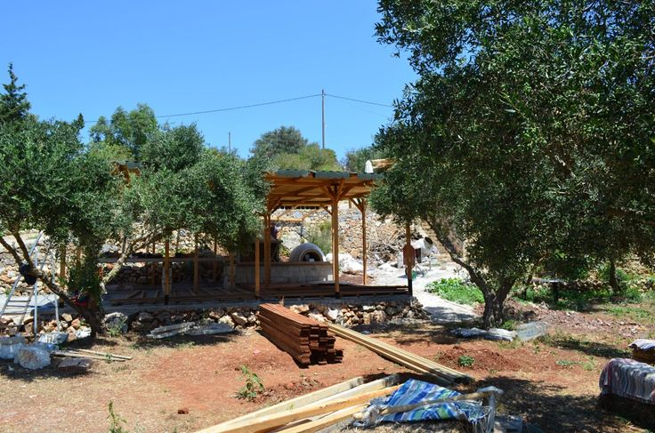 The workshops area - construction work in progress - Stage 7