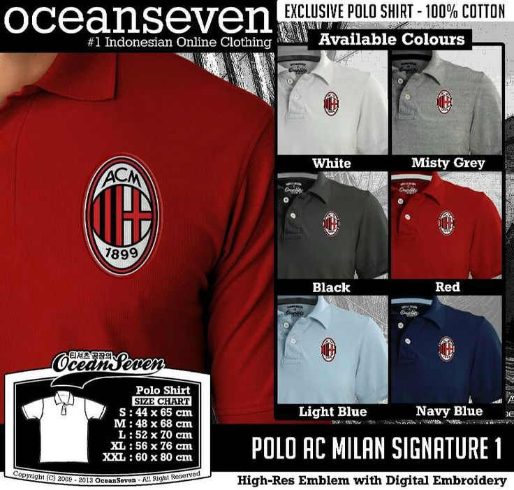 polo ac milan signature 1