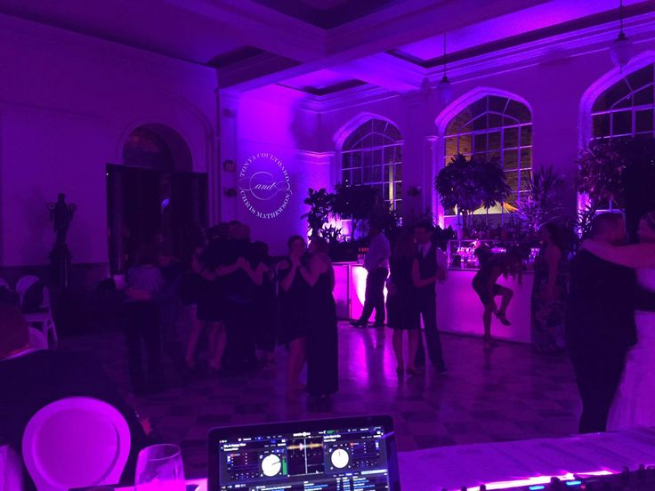 Casa Loma with the Dance floor lit! - DJ Liam